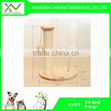sisal simple Cat toy with mouse
