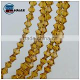 2016 Pujiang beads Factory new design Outlet Glass Beads Wholesale Bicone Crystal beads