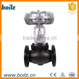 Pneumatic Proportional gas control valve for steam
