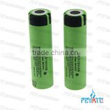 High capacity lithium ion NCR 18650 3400mah Rechargeable battery