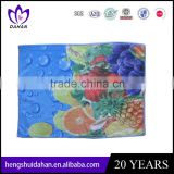 polyester fabric fruit and flower set microfiber towel latest design printing kitchen towel China supplier wholesaler