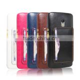 Wholesale New Premium wallet card slot case for Moto X Play