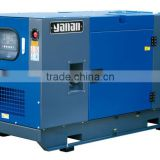 Yanan!65db silent type water-cooled diesel generating sets powered by kubota engine For 35 kva