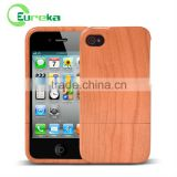 OEM Wooden bamboo bumper case cover for IPhone 4