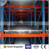 storage systems golden supplier cold steel pipe roll pallet gravity rack for warehouse storage Nanjing Victory