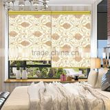 Home decor horizontal blackout motorized roller blinds for bedroom