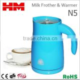 One-Touch Dual Wall Electric Milk Frother & Warmer For Coffee Foam Maker Cappuccino , Model N5