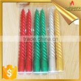 thread candle wedding party craft candle color red pillar candles