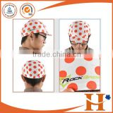 2015 new custom 4 panel cycling cap pro team cycling hat