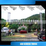 aluminum lighting truss lift truss systrm roof truss backdrop truss system led screen truss