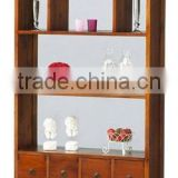 bookcase,home furniture,living room furniture,wooden furniture,solid wood furniture,mango wood furniture,sheesham wood furniture