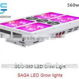 LED grow lights for your grow tents. No need fans, air condiction.ballast....Saga Sco-560w