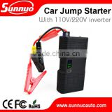 21000mAh Diesel and gasoline car jump starter with an inverter suitable for electric appliance's charging