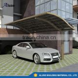 Modern Wind Resistant Carport With Aluminum Frame Polycarbonate Panel