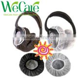 Spunbound Polypropylene Latex-free Disposable Headset Covers, Earphone, Headphone and Phone covers