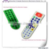 hot embossed button ,PCB top cover graphic panel ,incom parable tactile keys