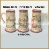 ceramic beer steins beer mug for drinkware                                                                         Quality Choice