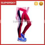 Y07 Sports Fitness Gym Stretch Pants Women Cropped Tight Leggings High Waist Yoga Pants