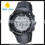 WJ-5253 water resistant stylish rubber strap alarm sport casual charming men and women unisex digital watch