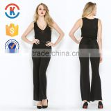 Ladies black jumpsuit for women 2016