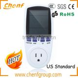 High Quality US 120V Plug Power Meter Energy Tester With Power Factor Energy Monitor For Energy Saving