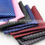 Custom Wholesale 100% Polyester 100% Silk Head Kerchief pocket squares for men