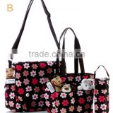 Multifunational Fashion Mommy/Mom/Baby Bags, 600D Oxford Summer Style Organiser Diaper Bags
