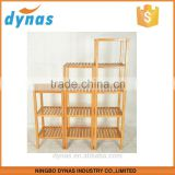 Modern Design and Traditional Craft Home Bamboo Cheap Corner Shelf