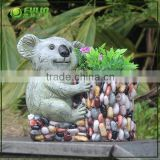 Cute bear garden planter pots,garden flower pots                                                                                                         Supplier's Choice