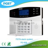 Home Security Alarm system with FSTN network connection voice prompts for operation
