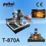 bga rework station for laptop/bga reballing kit/ hot air soldering machine/motherboard and xbox 360 repair tools/t870a