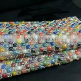 rhinestone sheet hotfix motif trimming super closed with square ceramic and A grade quality crystal