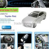RFID Keyless Entry Remote Engine Start Push Start Button Car and Easy Car Alarm System for Toyota Reiz