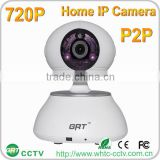 Motion Detection alarm two way Audio video surveillance p2p 720p smart home night vision ip camera prices