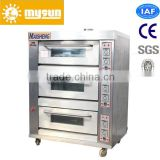 CE approved manufacturer 3 layers 9-tray Commercial pita arabic bread oven