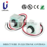 JL-401 Electronic Switch Wire-in Photocells For Street Light Control (UL, CUL)