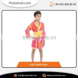 Modern Design Perfect Finishing Kids Bathrobe Available With Custom Colors and Design