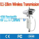 OEM Long Range Wireless Outdoor CPE / AP / Bridge for CCTV Baby Monitoring Home Security Surveillance ip Camera
