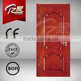 Good quality simple design wood door teak carvings french door