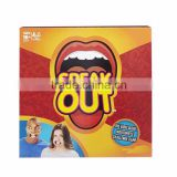 2016 unique family christmas gifts indoor board game speak out