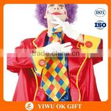 Funny clown fancy dress, professional clown costumes, clown oil painting