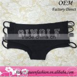 Unique Special Designed vagina panties Cotton thong panties, m, l for girl or women