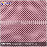 100% polyester 3D air mesh fabric spacer breathable mesh fabric for shoes and bags
