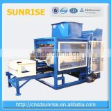hot selling concrete brick making machine with bamboo pallets with good discount
