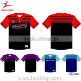 Professional Sublimation China Factory OEM Baseball Softball Training Sports Wear Jersey Uniforms