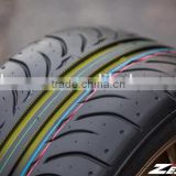 265/50ZR20 XL white color smoke tire sport cars ZESTINO semi slick tires ECE certificate R16R17R18R19R20