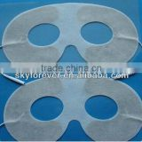 Durable adhesive eye care electrode tens pads ,eyes massage electordes pads