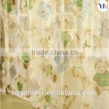 Lovely cartoon print blackout fabric for window curtain with lovely carton printed curtain screen,voile curtain Hangzhou