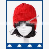 new product for 2014 Wholesale china manufacture OEM CUSTOM LOGO fur pompon winter warm women and men acrylic beanie hat and cap