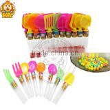 Assorted Plastic Tableware Toy Candy 3g Dinnerware Candy Toy
